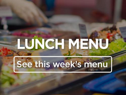 Weekly Lunch Menu